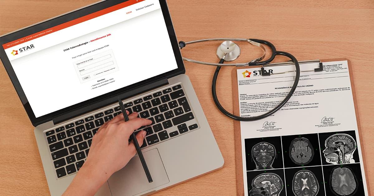 laudos de radiologia e opinião especializada