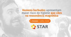 Homens barbudos apresentam maior risco de higiene que cães na ressonância magnética | STAR Telerradiologia 2