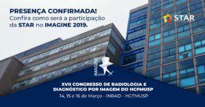 XVII Congresso de Radiologia e Diagnóstico por Imagem do HCFMUSP – IMAGINE 2019 | STAR Telerradiologia 3
