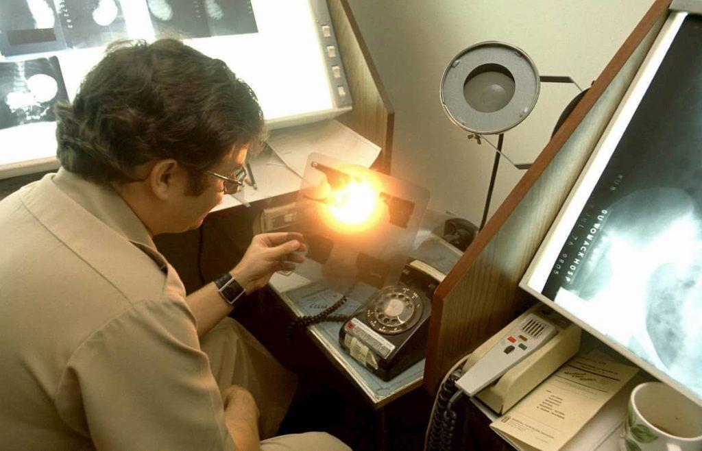 radiologista sem uso de inteligência artificial