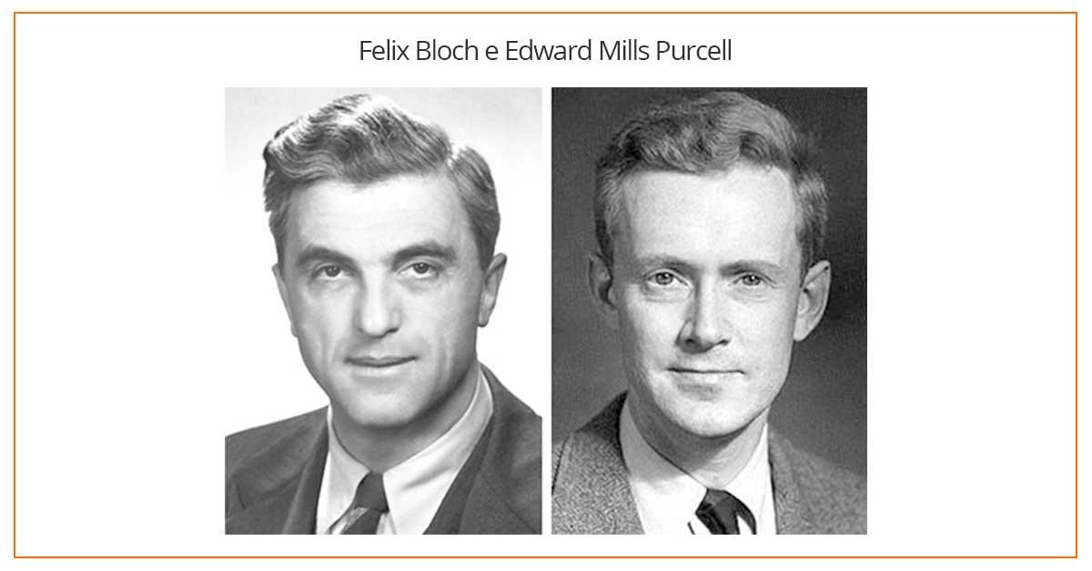 Felix Bloch e Edward Mills Purcell