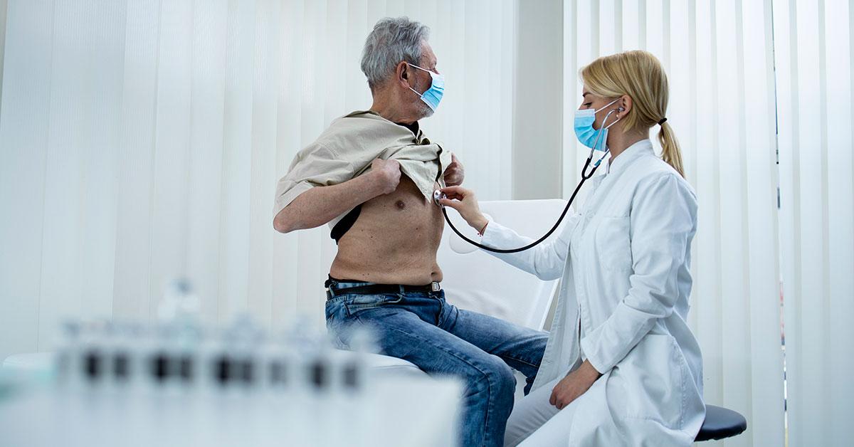 exame de acometimento pulmonar